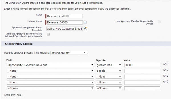 sfdc create simple approver workflows quickly and easily